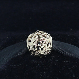 High-quality 100% 14K Real Gold Openwork Butterfly Charm Bead Fits European Pandora Jewelry Charm Bracelets & Necklace