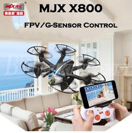 Wholesale Fashion RC Quadcopter MJX X800 Drone Aircraft G CH Axis Gyro RC Mini Helicopter with Flash Light