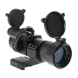 Tactical M2 Style 1x30mm Red Green Dot Rifle Scope Sight with Quick Release Cantilever Mount