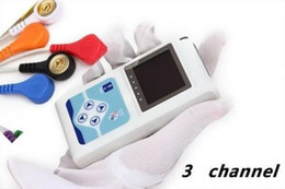 Wholesale Contec Manufacturer shipping NEW Channels ECG Holter EKG Holter ECG Monitor System hours ECG Recorder TLC9803