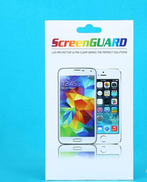 500pcs Wholesale Custom Colorful Paper Packaging Package Retail Box For iPhone Samsung Tempered Class Screen Protector