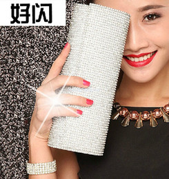 New Arrival Crystal Prom Evening Wedding Party Hand Bags Generous Bridal Hand Bags Free Shipping