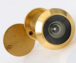 Visores de puerta al por mayor en Línea-Venta al por mayor de alta calidad de 180 ° de gran angular COPY 14MM DOBLE VISOR PEEPHOLE SPYHOLE 35-55MM PUERTAS Coste de envío gratuito