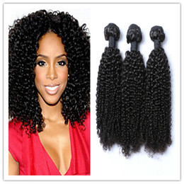 """Cheap Mongolian Kinky Curly Hair Weave Bundles,Afro Curly Virgin Hair Weft Extensions,8-30"""" Afro Curly Human Hair 300g bundle free shipping"""