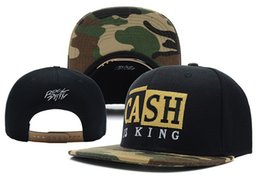 Wholesale cash is king Camo Snapback baseball hats military fashion baseball caps styles sun hat cap men women high quality best gift