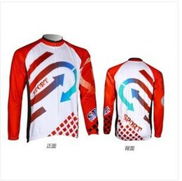 Wholesale-QN10516 Men's winter fleece long sleeve cycling jersey