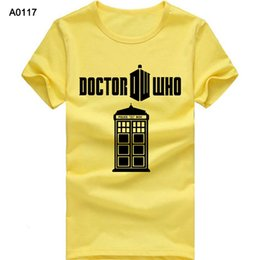 Wholesale Euro size Cotton Beatles T Shirts Men Like Doctor Who Abbey Road Man T Shirt Short Sleeve O Neck Mens Tees Tops Shirt