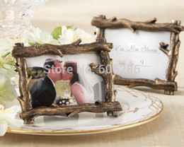 Wholesale Bridal Shower Favors Scenic View Tree Branch Place Card Holder Photo Frame Holder Wedding Door Gifts new