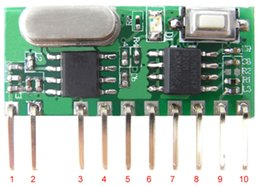 Wholesale RY RM03 Wireless modules M or MHz ASk RF module V Learning receiver module with decoder
