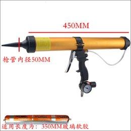 Wholesale High Quality ml Sausage Pneumatic Caulking Gun Glass Glue Gun Air Rubber Gun Caulk Applicator Tool