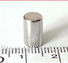 Wholesale 50PCS Bar dia5x10mm N52 Super Strong Neodymium Magnets Rare Earth Permanent Strong Craft DIY Magnetic Rod