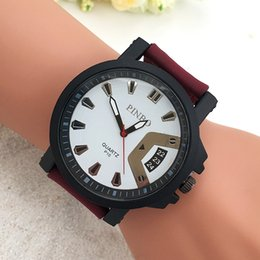 Wholesale Individual Jeans Belt Men s Sports Watches Calendar Display Men s Watch Outdoor New Arrival Students Best Gifts Quartz Watches Fabric Watch