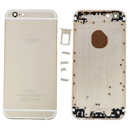 Wholesale OEM iPhone Plus inch Back Panel Metal Housing Battery Door Back Cover Middle Frame Assembly Replacement Parts