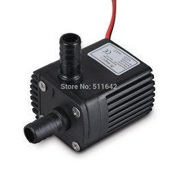 Wholesale 2014 New DC30A DC12V Phase Brushless Magnetic Centrifugal Submersible Mini Water Pump Waterproof L H M W