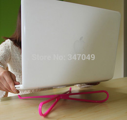 Wholesale-Multicolor Portable Laptop Computer Stand Cooler Notebook Cooling Rack , Stand For Laptop , Laptop Cooling Pad Free Shipping