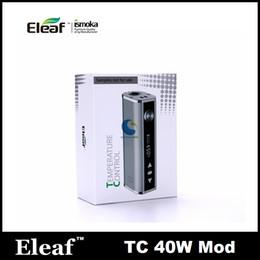 Wholesale 100 original cheapest Eleaf Istick W TC Box Mod Simple Pack mAh Temperature Control Battery ohm vs ADT W Sigelei TC W