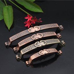 European antique copper handle cabinet drawer handle classical high-grade zinc alloy factory direct wholesale a generation of fat