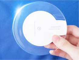 S6 Qi Wireless Charger Cell phone Mini Charge Pad For Qi-abled device Samsung nokia htc LG cellphone with retail package