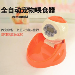 Wholesale Pet intelligent automatic timed feeders Dogs and cats feeding machine Feed the dog dog bowl bowl regularly