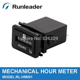 Wholesale 10PCS DC V AC V Hour Meter TIMER Counter for forklift truck marine vehicles farm machinery generators TRACTOR lawn mower