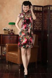 Free shipping Velvet cheongsam dress Womens traditional Cheongsam Dress Qipao Oriental dress national trend dress TD0013