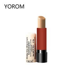 YOROM Makeup Cream Concealer Pencil Remove Black Eye Cover Acne Scar Freckles Makeup Base Beauty Product