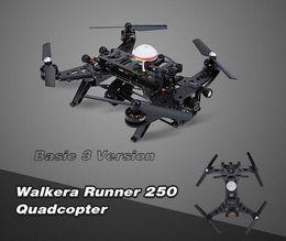 Wholesale Cheap Original Walkera Runner Basic Version RTF RC Quadcopter drones with TVL HD Camera OSD DEVO Transmitter DHL