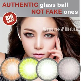 Wholesale 1pair Amazing colors Glass ball colors very sexy color contact lenses DHL shipping Recognized comsmetic contact lenses
