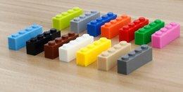 1kg lot Building blocks compatible leg0 toys 1x4 studs