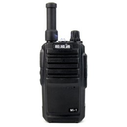 Wholesale Mini Walkie Talkie UHF MHz Channels W Portable Transceiver Two Way Radio A7185