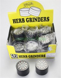 Wholesale 1PCS herb metal grinder Hard top tobacco Grinders mm grinder tobacco for smoking water bongs ans Pipes