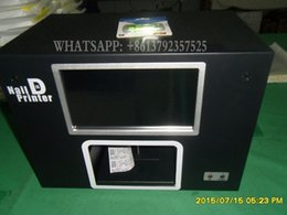 Wholesale digital nail printer printing nails or artificial nails a time build with screen and computer inside