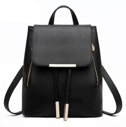 2015 New Women Girl School bags Backpack Fashion Shoulder Bag Rucksack Leather Travel bag