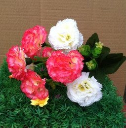 carnation flower Display flower real touch non-polluting Artificial Flower Simulation Wedding or Home Decorative Flower free shipping