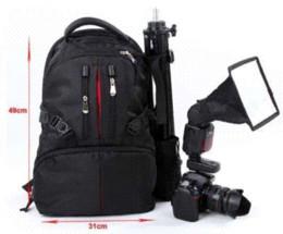 New Arrival Camera Bag Black Backpack For Camera Rucksack Bag Case Shockproof DSLR RainCover For Cameras Waterproof Camera Bag