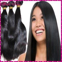 Wholesale Top Sexy Looking g High Quality Best World Hair Indian natural straight hairs Grade A Soft Silky Shiny Boutique