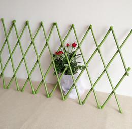 Wholesale 30X135cm PVC Coated Bamboo Fence Tensile Waterproof Garden Trellis Garden Decoration Fencing