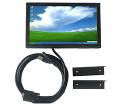 Wholesale 10inch TFT LCD Monitor Touchscreen TV Car Monitor Industrial Control Terminal POS terminal max resolution VGA KSF B