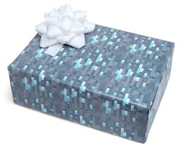 Wholesale Christmas Gift Wrap Sale - hot sale minecraft wrapping paper Minecraft Diamond Wrapping Paper gift christmas wrapping paper diamond packaging paper