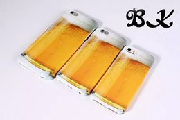 NEW Beer Liquid transparent TPU soft Case Cover For Apple iPhone 6 6 Plus Phone Cases Back Covers Free shipping