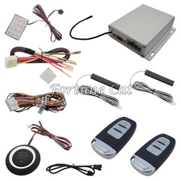 Wholesale High Quality car Passive Keyless Entry System With Remote Start Automatic Lock Or Unlock