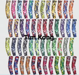 NEW all colors in stock digital camo Arm Sleeve for Football Basketball Baseball free shipping by DHL