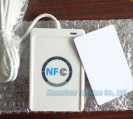 Wholesale Access Control ACS ACR122U USB NFC Tags RFID Contactless Smart Card Reader amp Writer SDK CD