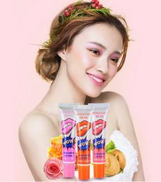 Wholesale Lip Gloss Lipstick Peel off Lasts For h No Stain Marine Collagen Lipstick Balm Plant Romantic Bear Makeup Moisturizing Lip Mask