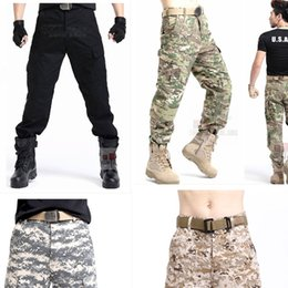 Wholesale Urban Tactical Pants Mens Military Combat Assault Outdoor Sport SWAT Training Army Trousers