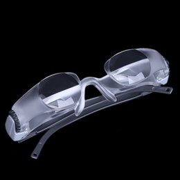 Wholesale Television TV Glasses Magnifier Lens Loupe Degree Goggles Portable Lupa X Myopia Magnifying Glass Microscope Ferramentas E0146