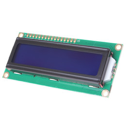 Wholesale 1602A V Blue Backlight LCD Display Module for Arduino DBP_102