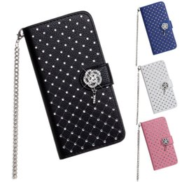 For iPhone 6 4.7 Babysbreath Stars Coated Leather Wallet Case