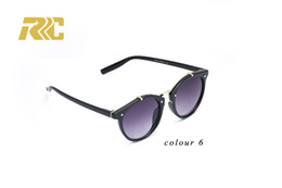High Quality discount sunglasses Lens Brand Designer Classic Fashion Men Women Round Circular Sunglasses Vintage Eyewear Shade Sun Glasses