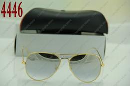 Wholesale-High quality Italy brand sunglasses mens women sunglasses brand designer 2015 mens eyeglasses Gradient Blue Lens